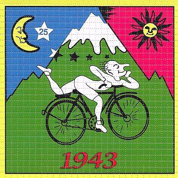 LSD - Albert Hofmann - Bicycle Day by eldar