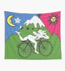 LSD - Albert Hofmann - Bicycle Day Wall Tapestry