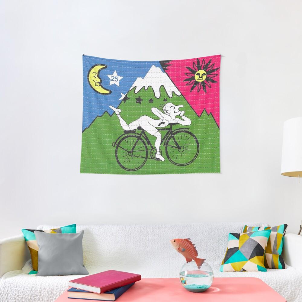 LSD - Albert Hofmann - Bicycle Day Tapestry