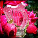 Crystal Harp & Roses by Beth Stockdell