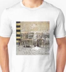 Three Chairs pencil sketch T-Shirt
