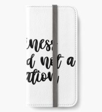 happiness is a mood not a destination  iPhone Wallet/Case/Skin