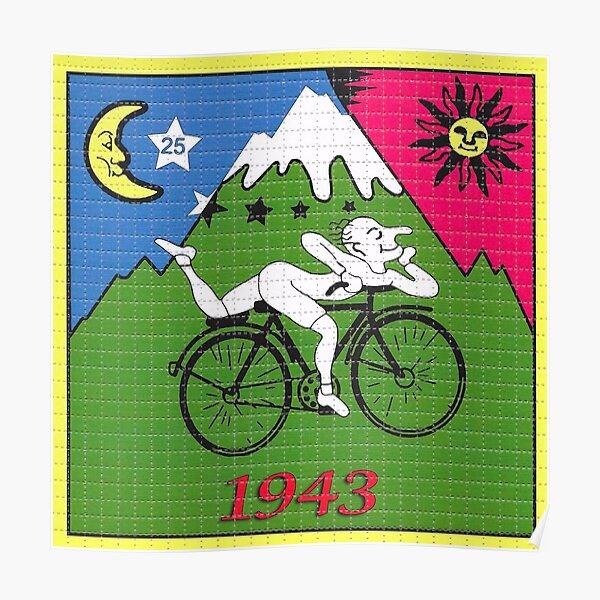 LSD - Albert Hofmann - Bicycle Day Poster