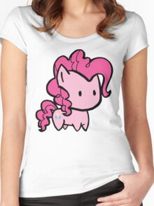 pinkie pie Women's Fitted Scoop T-Shirt
