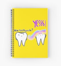 Unicorn Toothpaste Spiral Notebook
