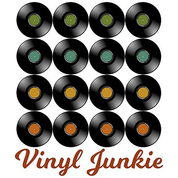 Vinyl Junkie | Record Collector by Designedwithtlc