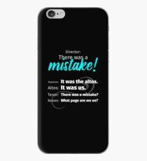 Für jeden Chor Sänger! iPhone-Hülle & Cover