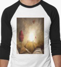 SURREAL BOOK Pop Art Men's Baseball ¾ T-Shirt