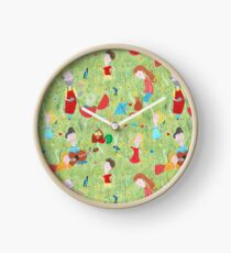 Pattern 76 - Family Summer Cookout  Clock