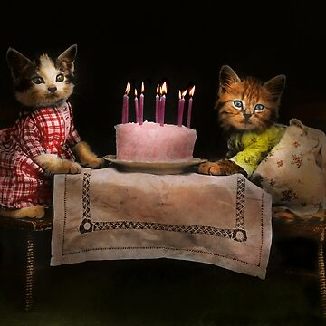 Cat - It's our birthday - 1914 by mikesavad