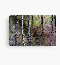 Impressionist Reflection Canvas Print