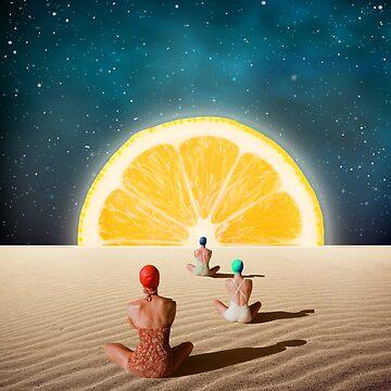 Desert Meditation by draw4you