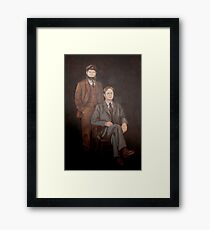 Dwight And Moes Painting Framed Print