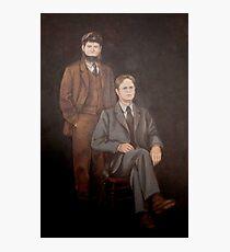 Lámina fotográfica Dwight And Moes Painting