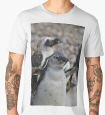 Baby Banded Penguin Men's Premium T-Shirt