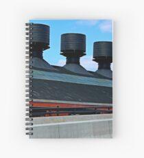 Bethlehem Steel Historic Downtown Bethlehem Pennsylvania  Spiral Notebook