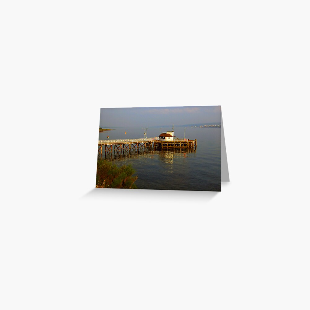 Kilcreggan Pier Greeting Card