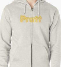 Pratt Institute Zipped Hoodie