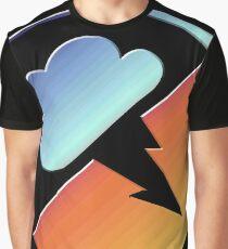 Colored Interlucid Logo Graphic T-Shirt