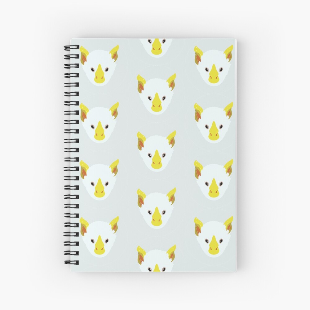 Honduran White Bat Spiral Notebook
