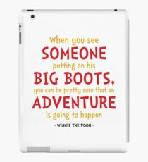 Adventure Quote - Winnie the Pooh Quote iPad Case/Skin