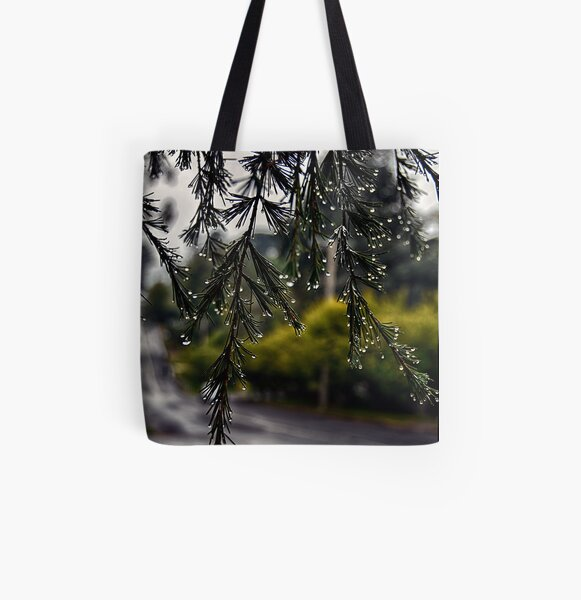 Rainy morning All Over Print Tote Bag