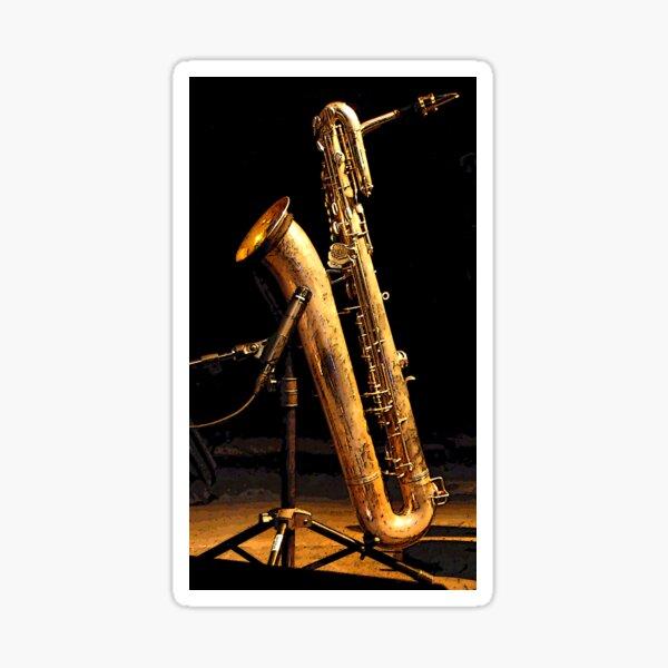 Baritone sax Sticker