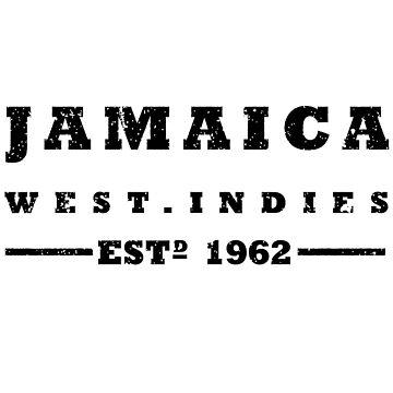 Jamaica ESTD 1962 by identiti