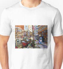 The Ritz Carlton Hotel Sherbrooke Street Montreal  Best Original Canadian Paintings  T-Shirt