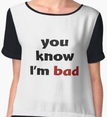 Blusa sabes que soy malo