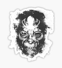 Death Eater Mask Sticker