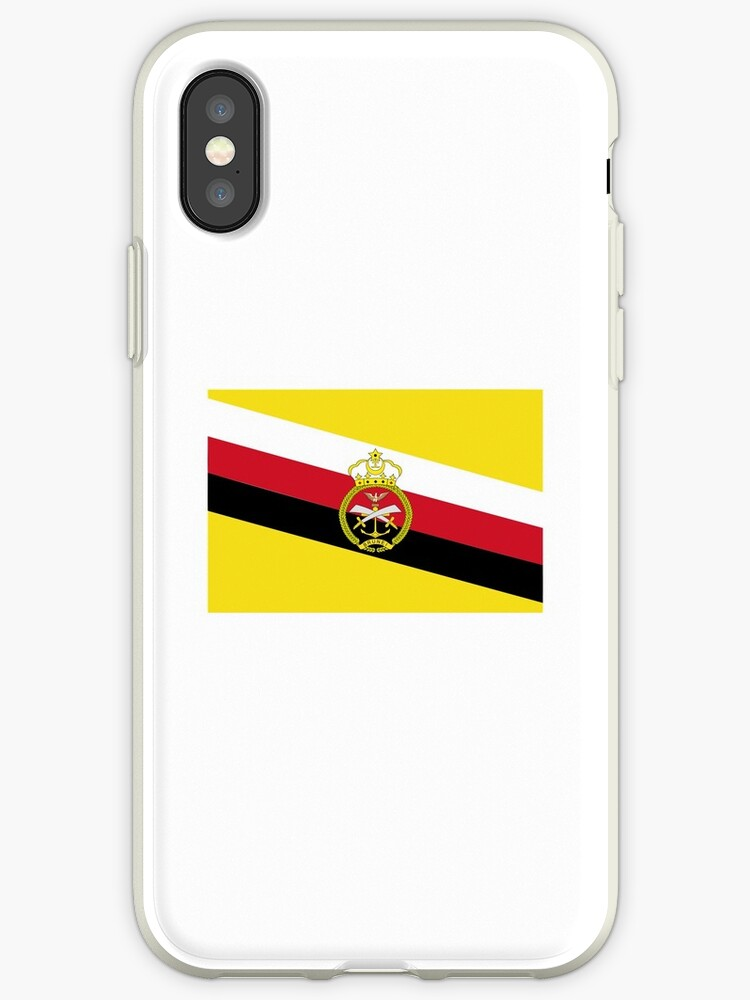 War Flag Of Brunei Iphone Cases Covers By Ofmany Redbubble
