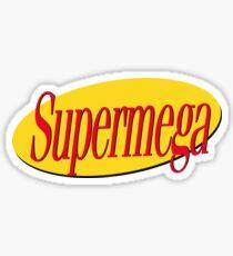 Yellow Supermega Sticker