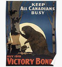 Vintage poster - Victory Bonds Poster