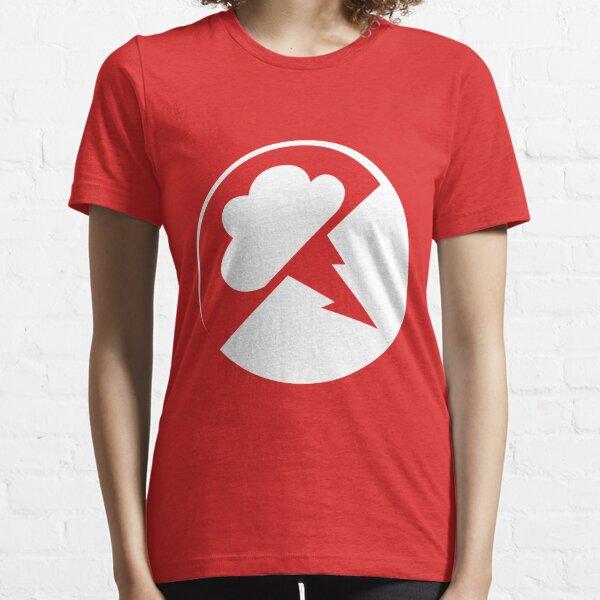 White/transparent Interlucid Logo Essential T-Shirt