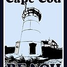 Cape Cod Beach Poster by Artist Dapixara