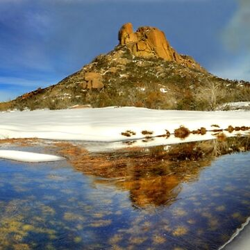 Winter, Mount Buffalo plateau by kevinmcgennan