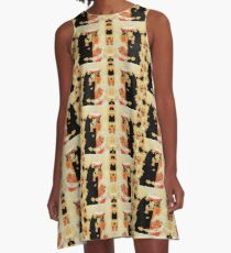 Cleopatras Face to Face A-Line Dress