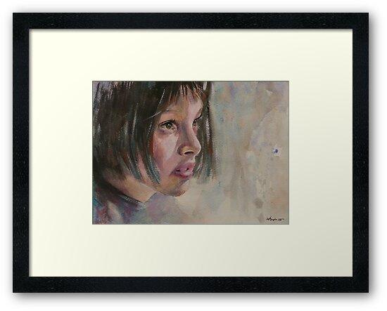 Matilda - Leon - The Professional - Natalie Portman by artsNportraits