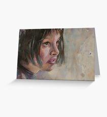 Matilda - Leon - The Professional - Natalie Portman Greeting Card