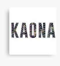 kaona Canvas Print