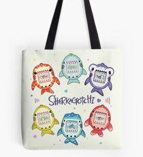 Sharkagotchi: 6 Species of Digital Pets! Tote Bag
