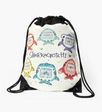 Sharkagotchi: 6 Species of Digital Pets! Drawstring Bag