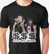 South Side Selbstmord Slim Fit T-Shirt