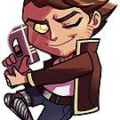 Astor Roy Sticker! by WickedSuitProd