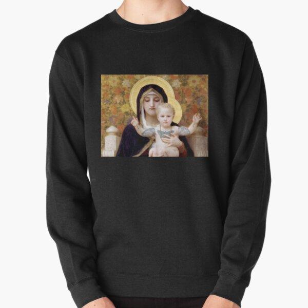Schlechte Stimmung Maria und Jesus Pullover