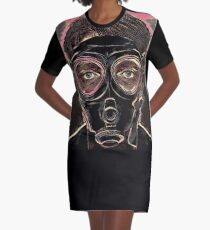 INFERNO MASK DOWNFALL T-Shirt Kleid