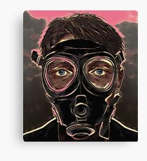 INFERNO MASK DOWN Canvas Print