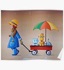 Just Another Rainy Day Poster