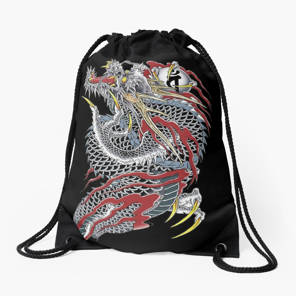 Yakuza  Drawstring Bag